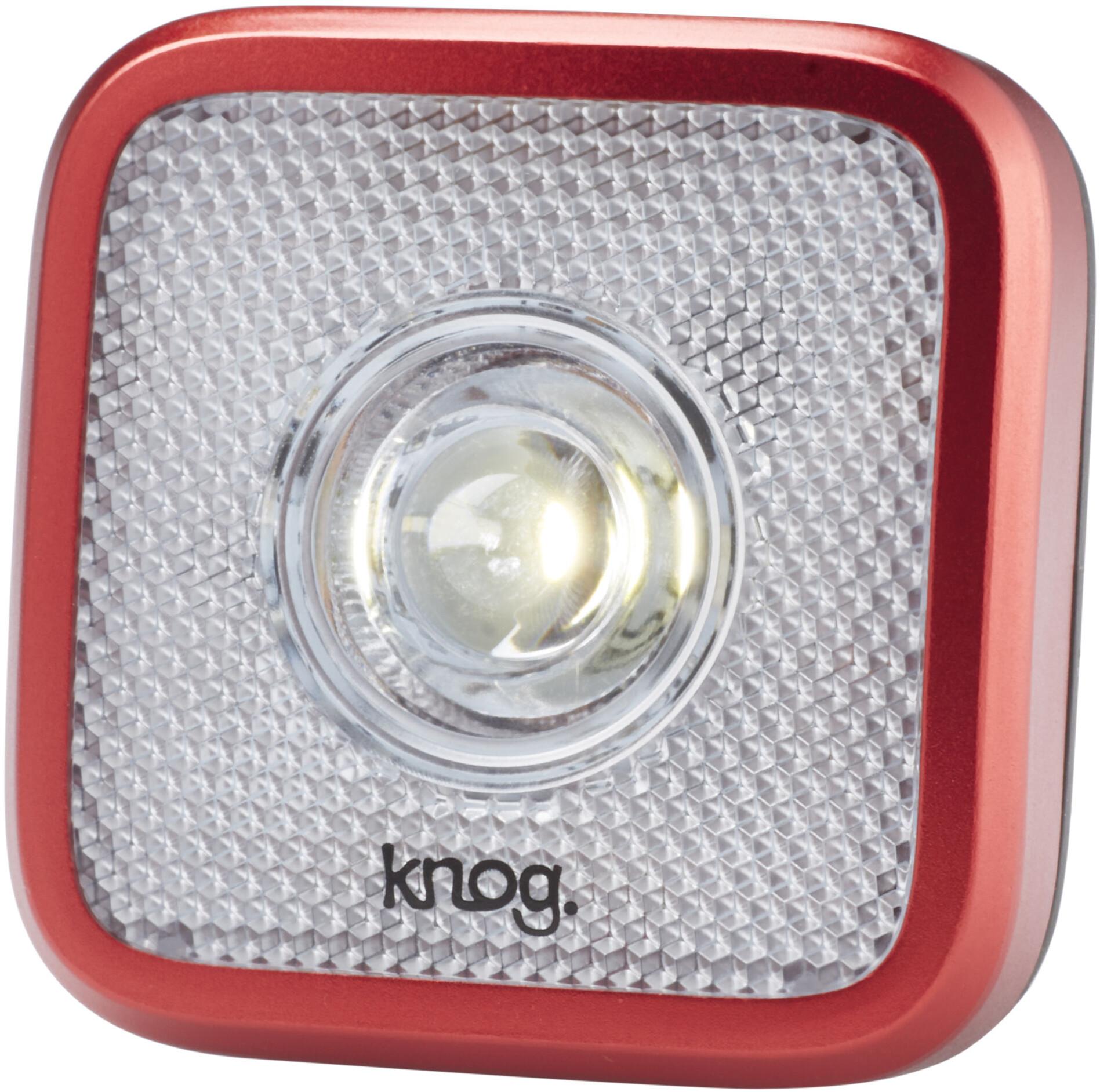 d32c0f70e Knog Blinder MOB Eyeballer - Luces para bicicleta - 1 LED blanco, estándar  rojo